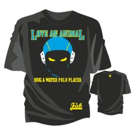 Love an Animal Black-Tshirt