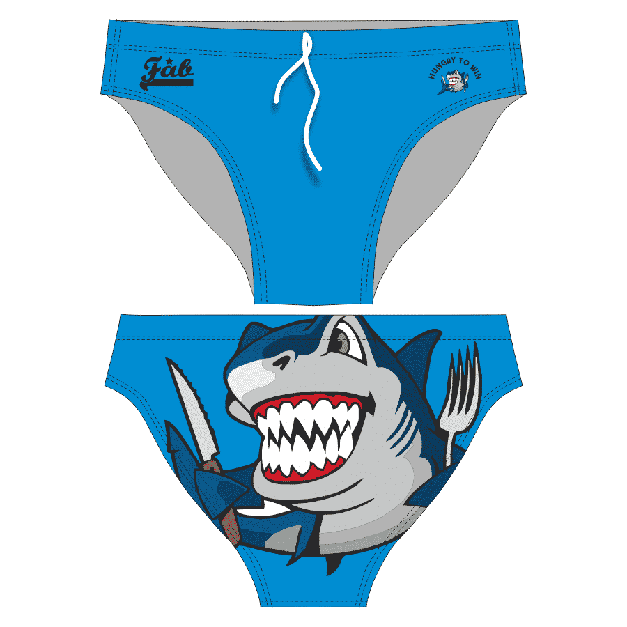 Hungry Shark Blue Brief