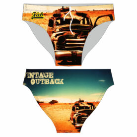 Vintage Outback Male Brief