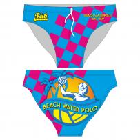 Beach Water Polo Cyan Brief