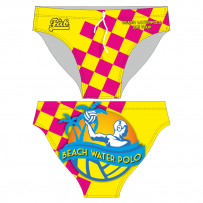 Beach Water Polo Yellow Brief