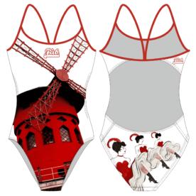 Moulin Rouge Openback