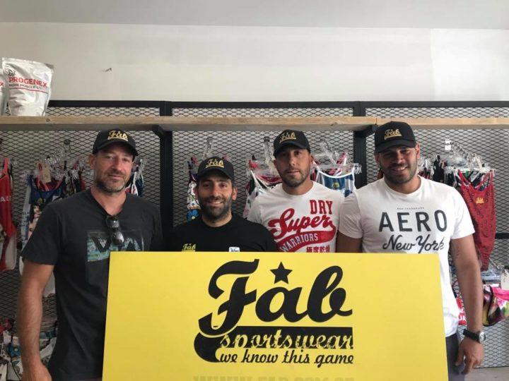Συνεργασία της FAB Sportswear με τον Α.Ο.Π. Φαλήρου!